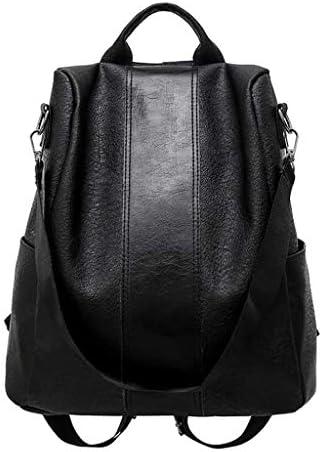 Mochila DEATU de gran capacidad a la moda para mujer bolsos de hombro de cuero suave para mujer mochilas informales antirrobo mochila de viaje