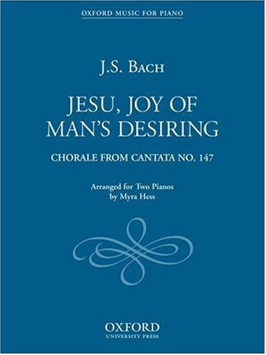 Jesu, Joy of Man's Desiring: Duet for two pianos ()