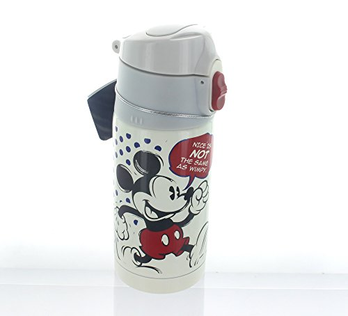 Mickey Mouse Stainless Steel Travel Mug with Jump Jump Bottle Cap