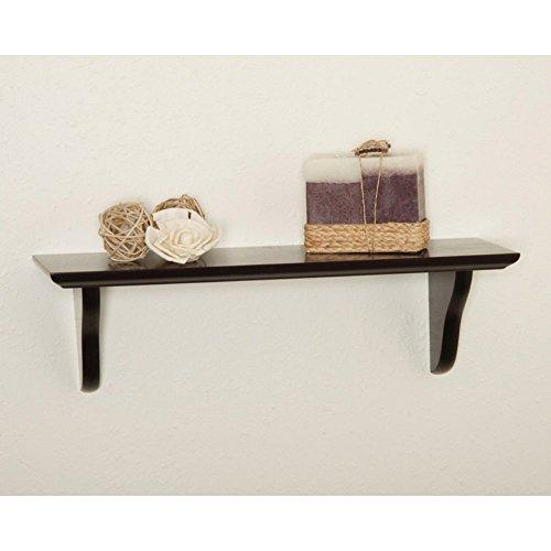 Woodland Home Decor CSE516 16-Inch Espresso Shelf Kit with