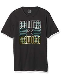 Puma Brand Graphic Camiseta Deportiva para Hombre