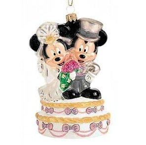 Disney's Mickey and Minnie Wedding Radko Ornament by Radko