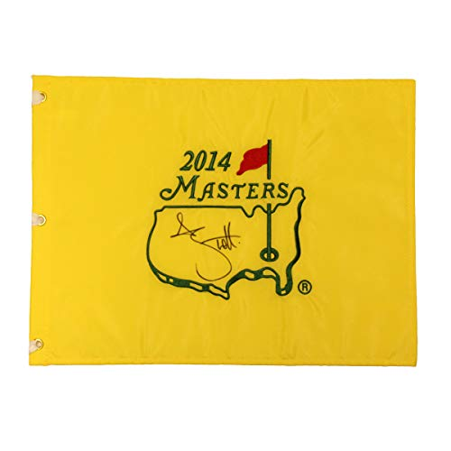 Adam Scott Autographed Signed 2014 Masters Pin Flag - JSA