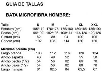 M Medidas Albornoces//Batas Adulto 10XDIEZ Bata coralina Hombre Smoking Azul Mediana