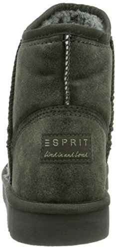 ESPRIT Uma Vintage Damen Kurzschaft Schlupfstiefel Grau (061 ledge grey)