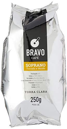Bravo Café Soprano Torrado e Moído 250g