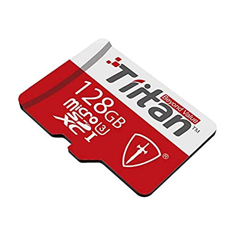 TIITAN 128GB UHS Class 3 Microsdxc Memory Card