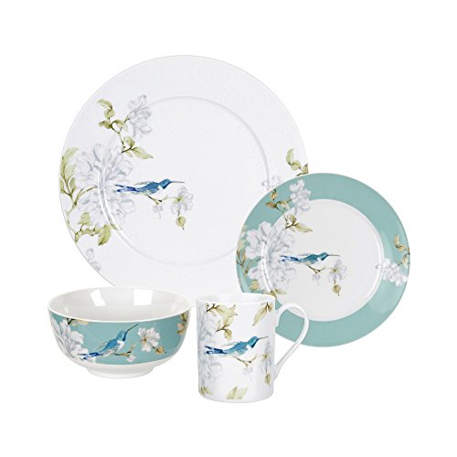 Royal Worcester Nectar - 16 Piece set consists of 4 each 10.5