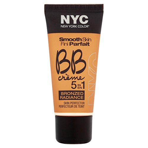 N.Y.C. New York Color BB Creme Foundation Bronze, Light, 1 Fluid Ounce