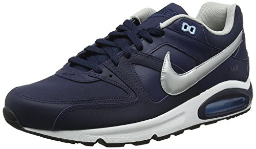 401 Command Scarpe Blu Uomo Obsidian da Air Silver Max Nike Ginnastica White Bluecap Metallic Leather 6wECRSxIq
