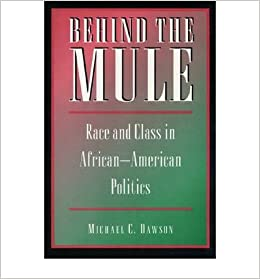 [( Behind the Mule: Race and Class in African-American Politics By Dawson, Michael C ( Author ) Paperback Jul - 1995)] Paperback