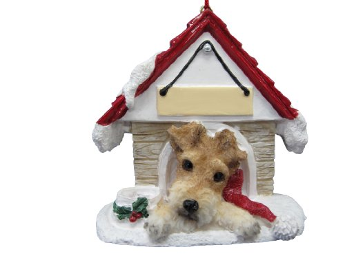 Wire Fox Terrier Ornament A Great Gift For Wire Fox Terrier Owners Hand Painted and Easily Personalized