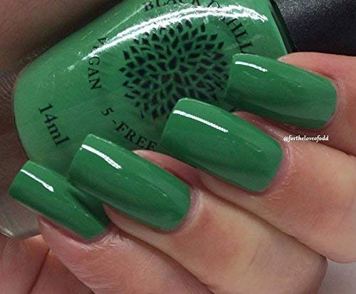 Ivy Vines | Bright Kelly Green Creme Nail Polish by Black Dahlia Lacquer by Black Dahlia Lacquer LLC