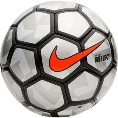 Nike Flash Clube Futsal Ball, Reflective Silver and Black, Pro Size