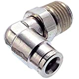 Fitting; nkl pl; Adapter; Elbow; Male; Swivel; 3/8, Pack of 5