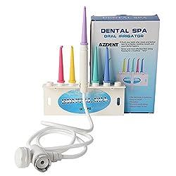 AZDENT Water Jet Dental Spa Water Floss Oral Irrigator Faucet Colorful Teeth Cleaner Jet Water Flosser