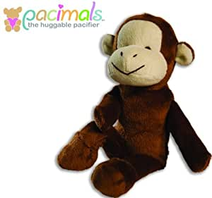 Pacipals Huggable Pacifier (Ooie the Monkey) -- NEW PACKAGING, SAME GREAT PRODUCT