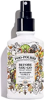 Poo-Pourri Before-You-Go Toilet Spray, Mandarin Vanilla Scent, 4 oz
