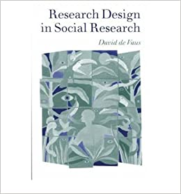 Research Design In Social Research Author De Vaus David February 2001 De Vaus David Amazon Com Books