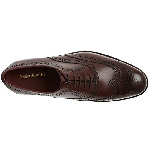 5 Mens Eu Fearnley Uk Chaussures Loake Formelle Calf Lacets Burgundy 8 43 UHBwfYAq
