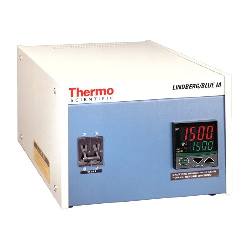 Thermo Scientific CC58114PC-1 Lindberg/Blue M Single Zone Console Programmable Furnace Temperature Controller, 240V, For Lindberg/Blue M 1500 Degree C Box Furnaces and 1200 Degree C Tube Furnaces