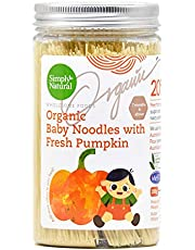 Simply Natural Organic Handmade Baby Thin Noodle (Pumpkin Flavour), 200g