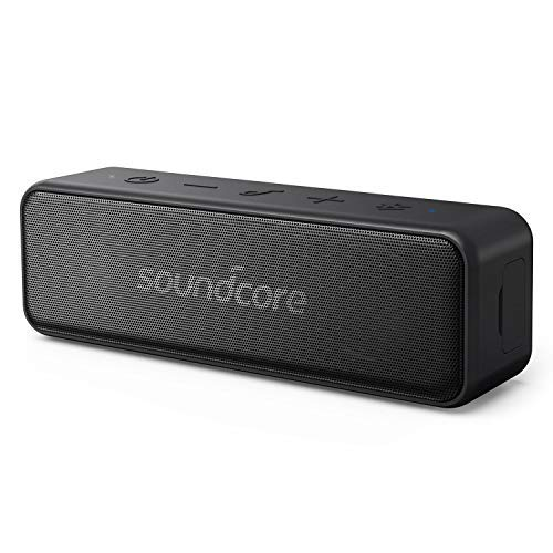Soundcore Motion B Portable Bluetooth Speaker by Anker, with 12W Louder Stereo Sound, IP67 Waterproof, and 12+ Hr Longer-Lasting Playtime, Soundcore Speaker Upgraded Edition for Home and Outdoors