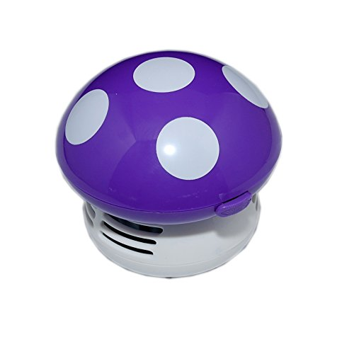 Mushroom Shaped Vacuum Cleaner purple