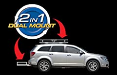 2-in-1 Hitch Mount and