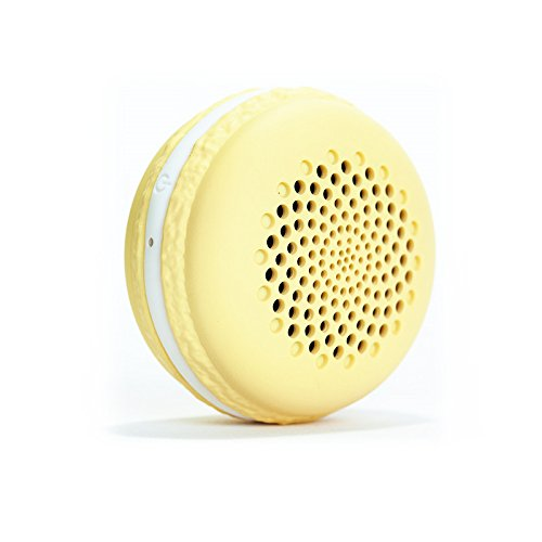 Yobbom Macaron Bluetooth Speaker, Colorfull and Small Size Waterproof Loudspeaker, the Best Gifts for Kids -