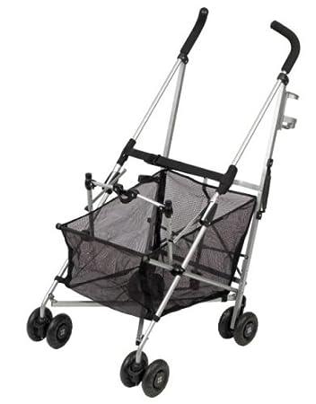 Amazon.com: Maclaren Easy Traveller carriola Negro y Plata ...