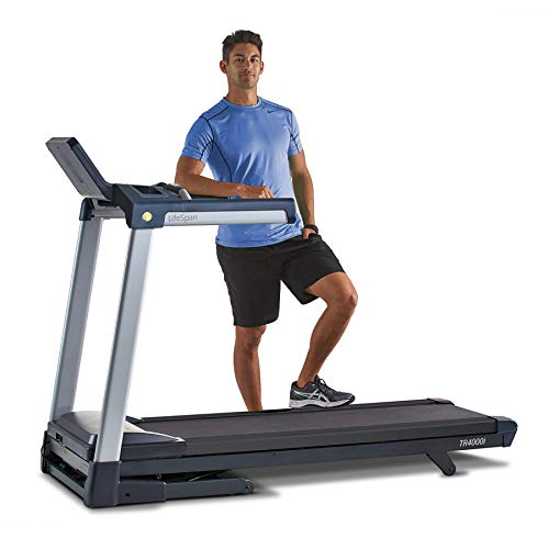 LifeSpan TR4000i Touch Folding Treadmill | At Home Fitness Treadmill