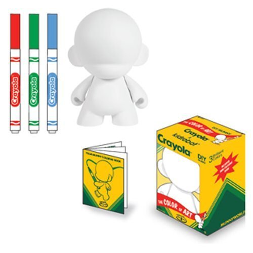 Kidrobot Crayola 4-Inch DIY Munny Vinyl Figure