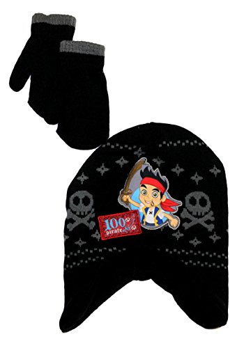 Disney Little Boys' Jake And The Never Land Pirates Cold Weather Set (Jake And The Neverland Pirate Characters)