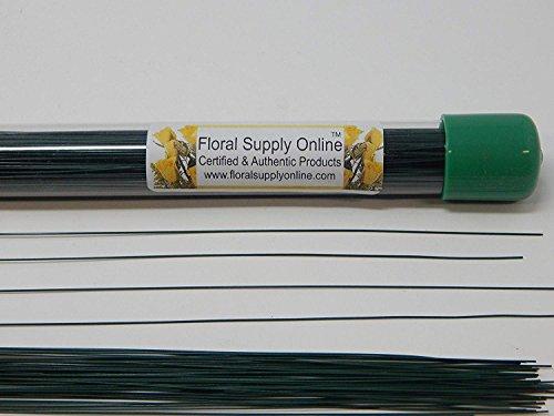 18 Floral Wire (26 Gauge) - 450 Pieces - DIY - Wedding, Prom, Corsage, Flower Arrangement, Boutonniere, Craft - Florist Stem Wire