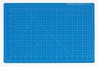 Dahle Vantage Durable Self-Healing Cutting Mat, 18 X 24 X 1/8 in Thickness, Blue (Mat Cutting Vantage)