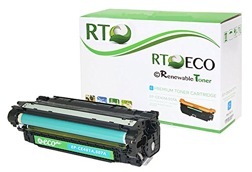 Renewable Toner 507A Cyan Toner Cartridge HP CE401A for HP LaserJet Enterprise 500 M551 MFP M575
