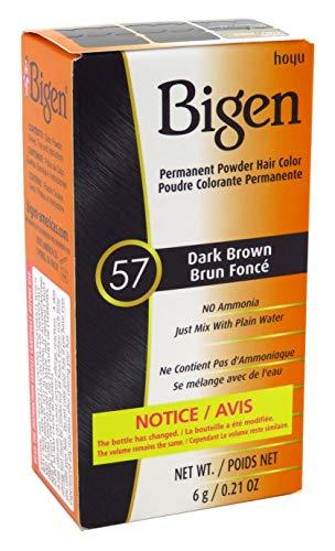 Bigen Powder Hair Color #57 Dark Brown 0.21oz