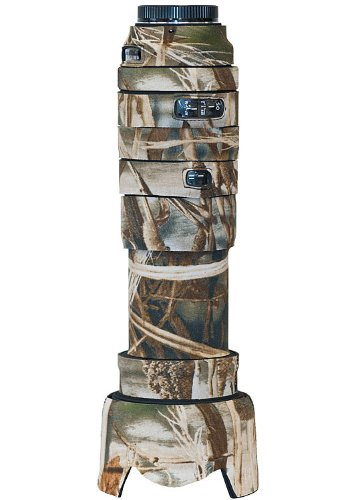 LensCoat Sigma 50-500 OS Lens Cover (Realtree Max4 HD)  camouflage neoprene camera lens protection sleeve  LCS50500OSM4