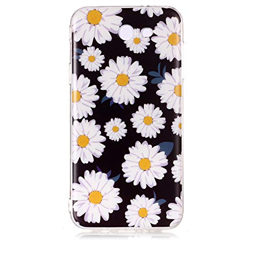 (AIIYG DS,Samsung Galaxy J7 2017 Case J720, Galaxy J7V Case,Colorful IMD Design Patterns Grinding Case,Cute Slim Shockproof Desgin Soft Flexible TPU Silicone Cover for Samsung)