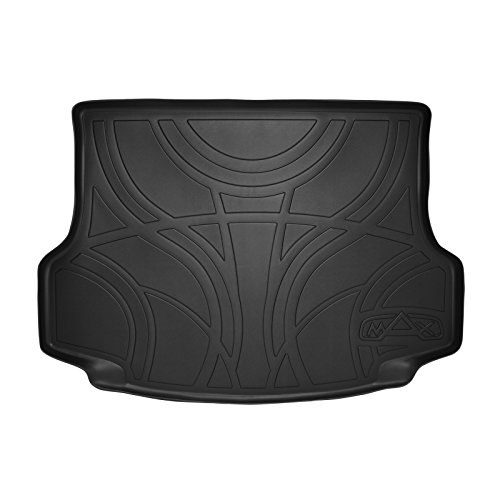 (SMARTLINER All Weather Cargo Liner Floor Mat Black for 2013-2018 Toyota RAV4 (No EV Electric)