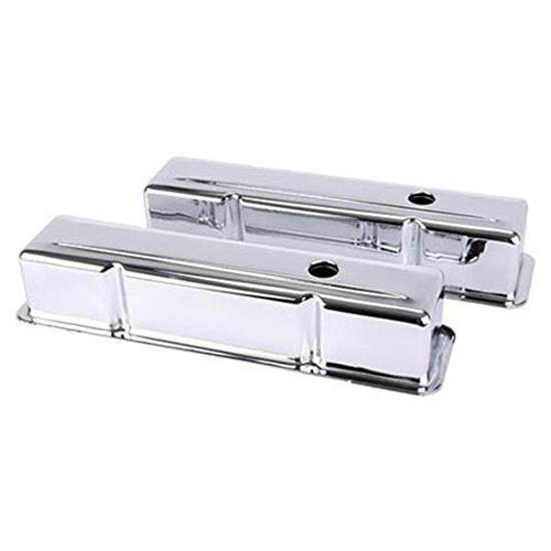 - Small Block Fits Chevy Tall Chrome Valve Covers