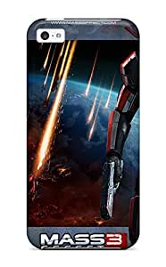 Iphone 5c Case Slim [ultra Fit] 2012 Mass Effect 3 Game Protective Case Cover