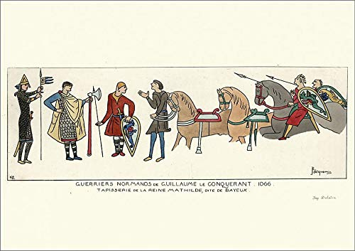 Media Storehouse A2 Poster of Norman Warriors of William The Conqueror, 1066 (19604163)
