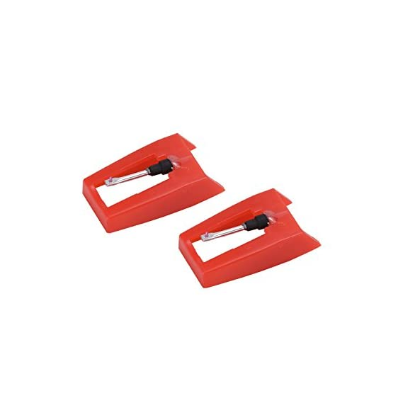 banpa Pack of 2 Turntable Replacement needle with Ceramic Tip for ION iCT09RS Quick Play LP, Power Play LP, Quick Play