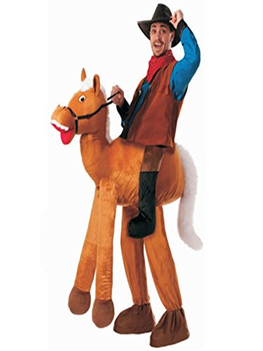 k228 HOT Fashion Piggy Back Carry Me Mascot Beer Man Beer Festival Ride Costume Christmas-One Size (Horse)