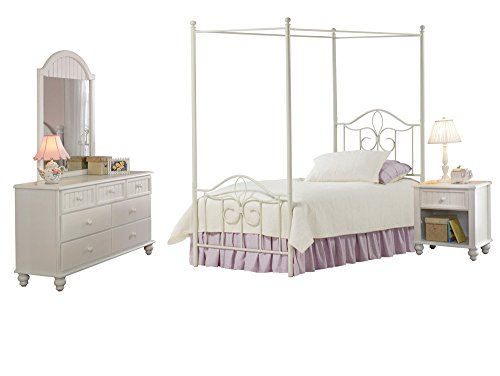 hillsdale-westfield-canopy-bed-twin-rails-nightstand-dresser-and-mirror