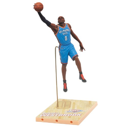 NBA Oklahoma City Thunder McFarlane 2012 Series 21 Russell Westbrook Action Figure Atlanta Hawks Player Series