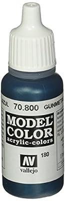 Vallejo Gunmetal Blue Paint, 17ml