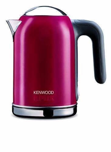 Kenwood SJM021 - Hervidor eléctrico, color rosa, material acero, potencia 2200 W: Amazon.es: Hogar